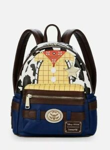 NEW Disney Parks Loungefly Pixar Toy Story Woody Mini Backpack NWT