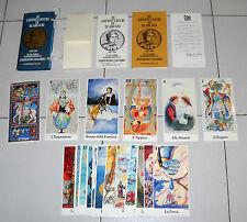 22 ARTISTI LIGURI IN 22 ARCANI Tarocchi Tarot CRISTOFORO COLOMBO 1991 Columbus