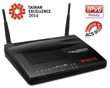 New DrayTek Vigor2912n Dual WAN 4-port Wireless 3G/4G Switch Router - Free Ship