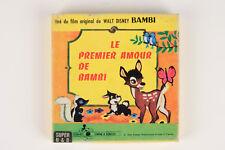"""FILM SUPER 8 NB MUET - WALT DISNEY """"LE PREMIER AMOUR DE BAMBI"""""""