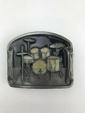 Drumset Belt Buckle made by Buckles of America ~ Masterpiece Collection