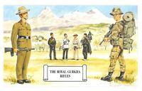 Postcard The Royal Gurkha Rifles, Himalayas, Nepal by Geoff White