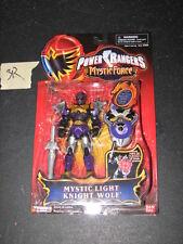 Power Rangers MYSTIC FORCE Magiranger WOLF PURPLE Light Bandai Sentai Figure new