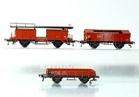 Fleischmann 5200 + 5210 + 5224 für Bastler H0 Güterwagen  Autotransportwagen