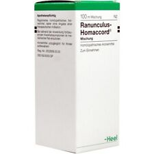 HEEL Ranunculus Homaccord 100ml Homeopathic Remedies