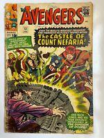 Avengers #13 - Iron Man Thor Captain America Marvel Comics
