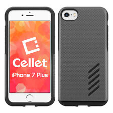 Cellet Dual Layer Anti-Slip Aviator Case for iPhone 7 & 8 Plus – Space GRY/BLK