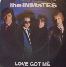"INMATES - Love Got Me ~ 7"" Single PS"