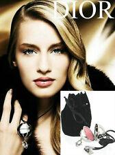 "100%AUTHENTIC Exclusive RARE DIOR DiorLight ""SWAROVSKI"" JEWEL Lipstick Necklace"