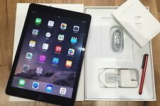 Eccellente Apple iPad Air 2 Display Retina 16 GB Wi-Fi + 4g (sblocca) Space Grigio