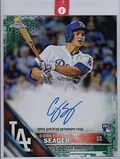 COREY SEAGER 2016 Topps Chrome Green Refractor #/50 8x10 rookie AUTO autograph