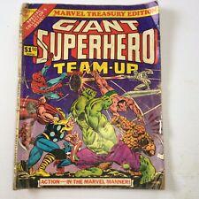 MARVEL TREASURY EDITION 9 1976, GIANT SUPERHERO TEAM-UP