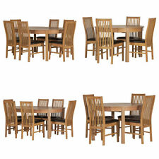 Oval Modern Table & Chair Sets with 5 Pieces
