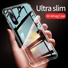 For Samsung A10S A20S A30S A50 A70 S20 Ultra Shockproof Clear Rubber Case Cover