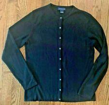 Ann Taylor Women's Black Silk Sweater-Size Medium