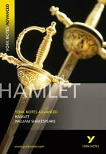 Hamlet: York Notes Advanced by Lynn Wood Paperback Book The Cheap Fast Free Post