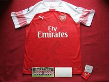 a2ef24344 ARSENAL - GUNNERS PERSONALLY  11  HAND SIGNED 2018-19 SHIRT JERSEY - PHOTO