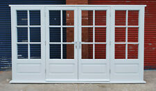 Hardwood Timber Georgian French Doors with sidelights! Bespoke! Made to measure!