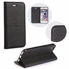"""^ URBAN Book Case Schutz Hülle Handy Tasche Cover Etui  iPhone 8 4,7"""" Schwarz"""