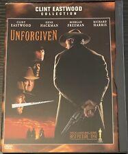 Unforgiven (Dvd, 1997) Snap Case Clint Eastwood