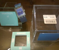 "Gioielli/Orologio "" SWATCH SQUARE SATISFACTION "" Swiss Made/The Club"