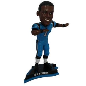 Cam Newton Carolina Panthers Exclusive Dab Bobblehead NFL BLUE #/72
