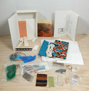 Vintage Postmark Phoenix Vignette Dollhouse Miniature Kit 1:48 Quarter Scale