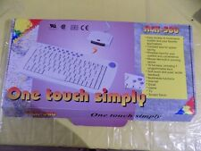 New Multi Media ACK-580 Keyboard, PS/2 Connectivity, Vintage