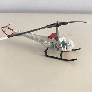 CORGI Bell Sioux DIE CAST HELICOPTER Los Angeles City Fire Department Model