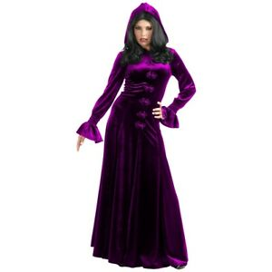 Vampire Costume Adult Gothic Witch Victorian Fancy Dress