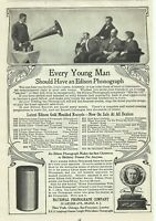 Edison Phonograph National Phonograph Company Orange NJ 1905 Vintage Print Ad