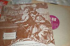 MMO Music Minus One FLUTE VIOLIN RECORDER LP Handel Telemann Marcello RAMEAU TRO