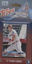 1 2018 LOS ANGELES ANGELS  BASEBALL TEAM SET TOPPS FACTORY OHTANI RC TROUT PUJ