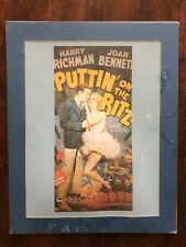 Movie Poster Puttin' On The Ritz Matted Print Wall Decor Media Theater Room Blue