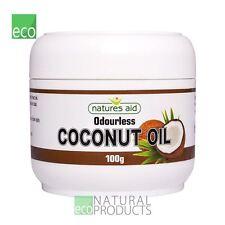 Natures Aid Coconut Oil Odourless Skin Cream 100g