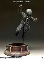 Cosmonaut, Tin toy soldier 54 mm, figurine, metal sculpture HAND PAINTED