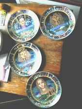 4 Bradford Exchange Power of Ancient Egypt Decorative Plate Collection