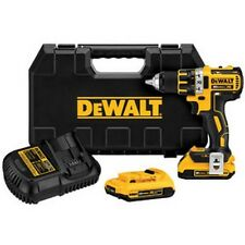 Dewalt DCD790D2 20V MAX XR Lithium Ion Brushless Compact Drill/Driver Kit - New