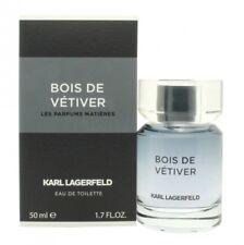 KARL LAGERFELD BOIS DE VETIVER EAU DE TOILETTE 50ML SPRAY - MEN'S FOR HIM. NEW