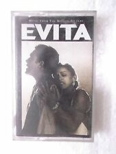 EVITA music madonna  1997 RARE orig CASSETTE TAPE INDIA indian