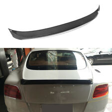 Rear Trunk Spoiler Wing Carbon Fiber For Bentley Continental GT Coupe 2012-2014