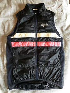 Rapha Men's Navy Brevet Insulated Cycling Gilet Jacket SMALL