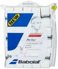 30 Babolat Tennis Overgrips, Pro Tour Racquet Sports Equipment New White