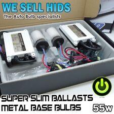 Balasto Slim 55 W HID Xenon Kit de conversión H7 4300K 50 W Metal Faro Bombilla 6k