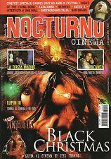 rivista NOCTURNO CINEMA ANNO 2007 NUMERO 60 BLACK CHRISTMAS