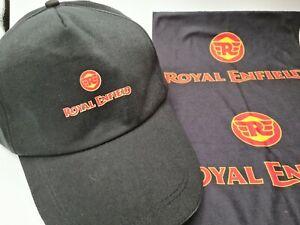 Royal Enfield Baseball Cap and snood/neck warmer free P&P interceptor, bullet