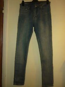 Blue skinny jeans by CPH Casuals Size 32 31.5L BNWT