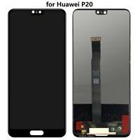 VITRE TACTILE ECRAN LCD ORIGINAL HUAWEI P20 NOIR + OUTILS