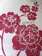 """New Laura Ashley Curtains Marciana Cranberry 64"""" X 54"""" / 162 x 137 Red"""