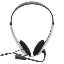 Stereo Headset Gaming Headphones With Microphone  for PC Laptop Computer